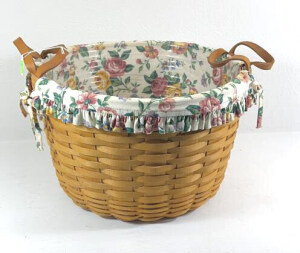 1997 Longaberger Hostess Wildflower Basket With