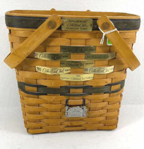 1997 Collector's Club Membership Basket With