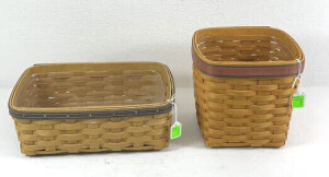 Two Father's Day Baskets- 1994 Small Tissue