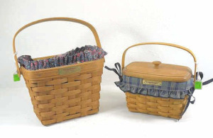 Two Dresden Baskets- 1994 & 1997 Dresden Tour