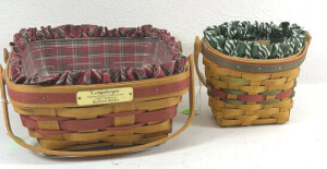 1998 Little Joy And A 1993 Bayberry Baskets