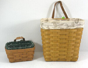 Two Key Baskets-1991 Small Key Como And A
