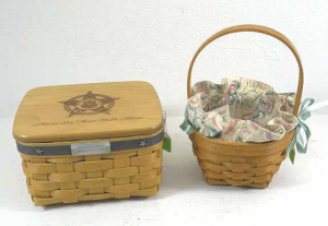 2005 Longaberger National Police Officer Basket &