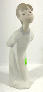 Lladro Figurine Boy In Long Pajamas