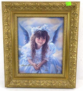 Sandra Kuck Angel Print Framed #61 Of 100