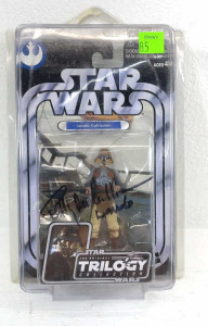 Lando Calrissian Autographed Star Wars Action