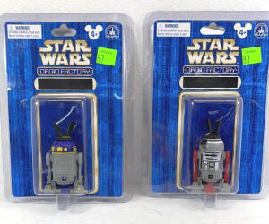 Two Star Droid Factory Auction Figures
