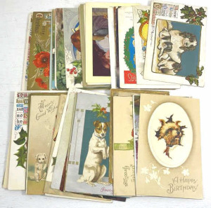 Group Of Vintage Postcards