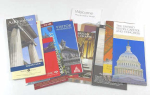 Miscellaneous Travel Brochures From England And
