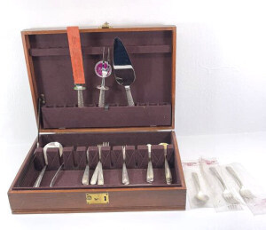 Sterling Flatware Jewelry And Coins