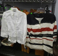 2 Shirts Sz 12; Anne Klein, Jones New York