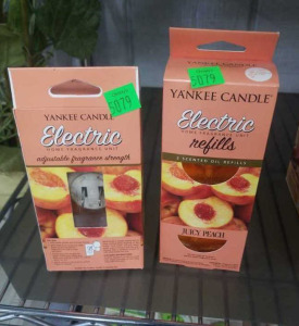 Yankee Candle Juicy Peach Electric Fragrance Plug