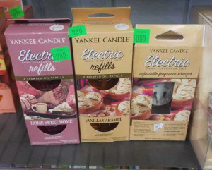 Yankee Candle Vanilla Caramel Electric Fragrance