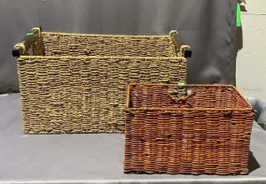 Two Wicker Baskets