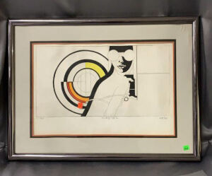 A Framed Hand Drawn Picture
