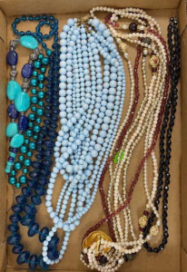 6 Misc. Beaded Necklaces