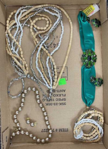 3 Sets- 1 Necklace / Bracelet And 2 Necklaces With