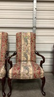 Pair Of Crystal Highpoint, Nc Arm Chairs 25x19 - 2
