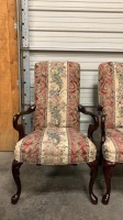 Pair Of Crystal Highpoint, Nc Arm Chairs 25x19 - 4