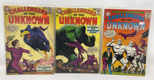 Dc Challengers Of The Unknown #35, 38, 41