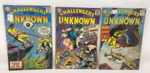 Dc Challengers Of The Unknown #44-46