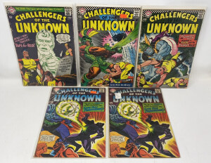 Dc Challengers Of The Unknown #55-58