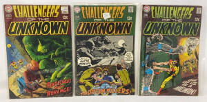 Dc Challengers Of The Unknown #66-68