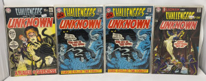 Dc Challengers Of The Unknown #72-74