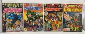 Dc Challengers Of The Unknown #75-78