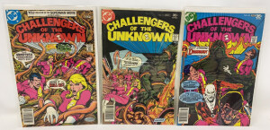 Dc Challngers Of The Unknown #82-84