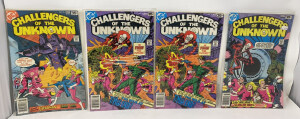 Dc Challengers Of The Unknown #85-87