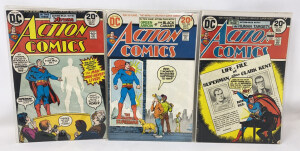 Action Comics #427 To #429