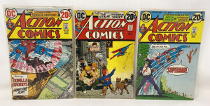 Action Comics #424 To #426