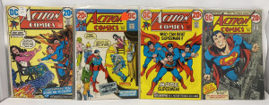 Action Comics #416 To #419