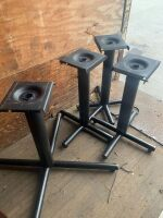 One Lot of Surplus Restaurant Chairs, and Table Bases  58 Chairs, and 4 Table Bases NO TOPS - 2