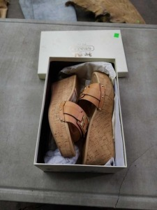 Pair of New Coach women's shoes size 8.5