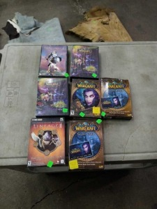 Lot of World Of Warcraft PC Games