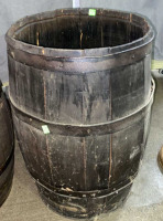 2 Barrels, One Is Missing A Lid 24x17 - 4