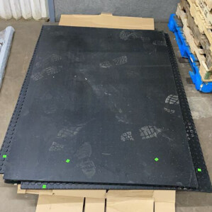 Four Rubber Mats 48x72