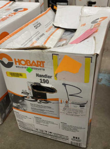 Hobart 190 With Defective Tag On It