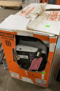 Hobart 250ci Defective Tag On It