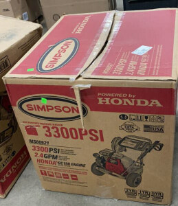 Simpson3300 Psi Pressurewasher