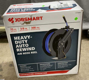 Heavy Duty Auto Rewind Air Hose Reel