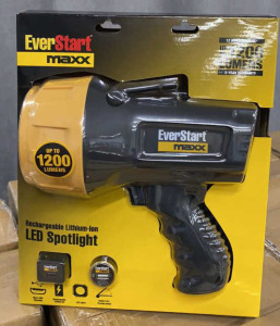 Everstart Maxx Rechargeabe Led Spotlight