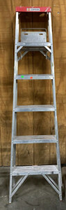 Cuprum 6 Foot Aluminum Step Ladder