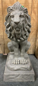 "Plastic Sand Lion 28"" Tall"
