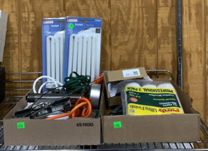 Daylight Light Bulbs, Extension Cords, Power Stris