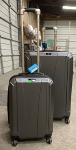 2 Pcs Skyway Rolling Luggage 20x12x29 And Carry On
