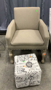 "Decorator Accent Chair 24x22x34 W 19"" Seat And"