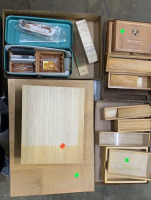 Cigar Boxes, Wood Boxes, Wood Pieces, Wood
